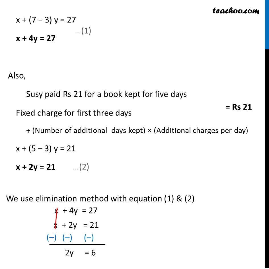 Ex 3.4, 2 (v) - Chapter 3 Class 10 Pair of Linear Equations in Two Variables - Part 2