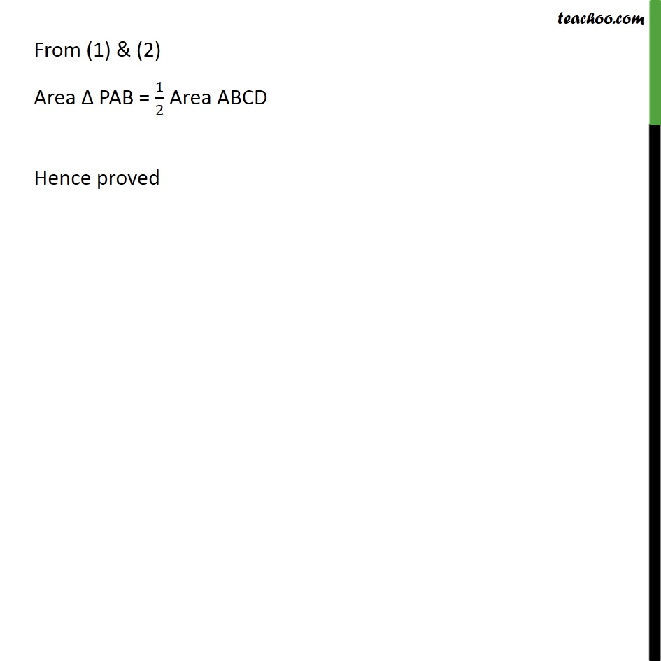 Example 2 - Chapter 9 Class 9 Areas of Parallelograms and Triangles - Part 3