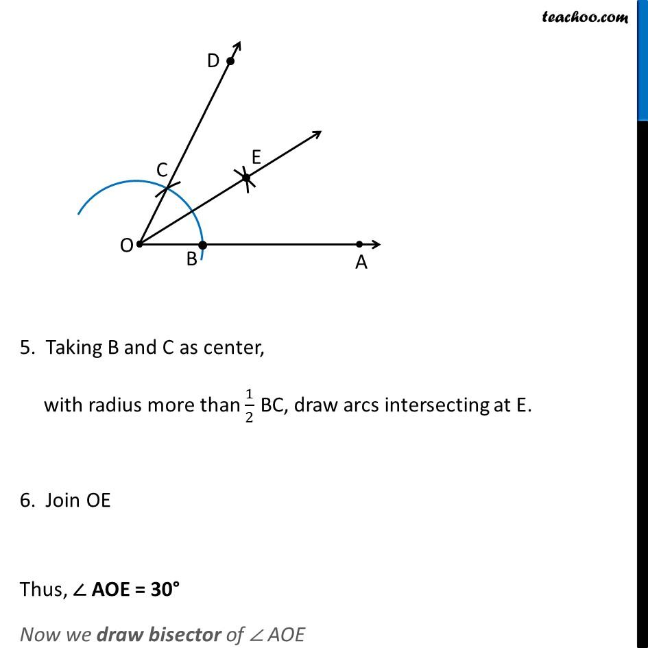 Ex 11.1, 3 (iii) - Chapter 11 Class 9 Constructions - Part 3