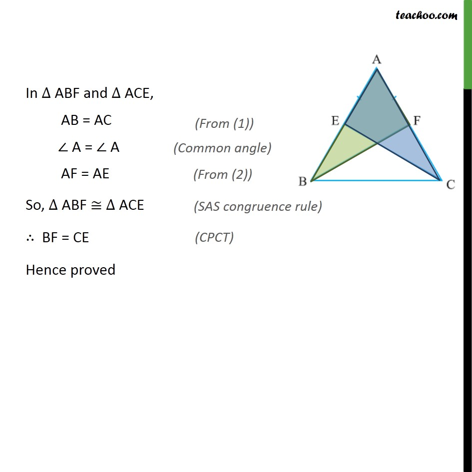 Example 5 - Chapter 7 Class 9 Triangles - Part 2