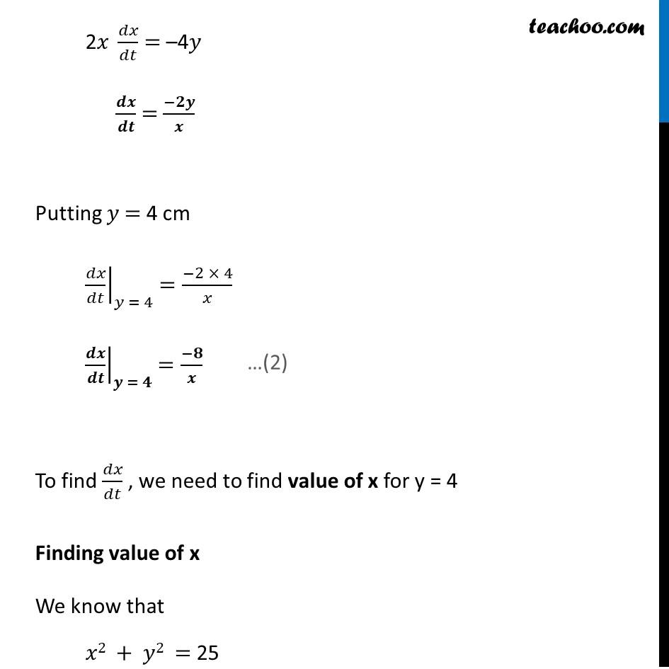 Ex 6.1,10 - Chapter 6 Class 12 Application of Derivatives - Part 4