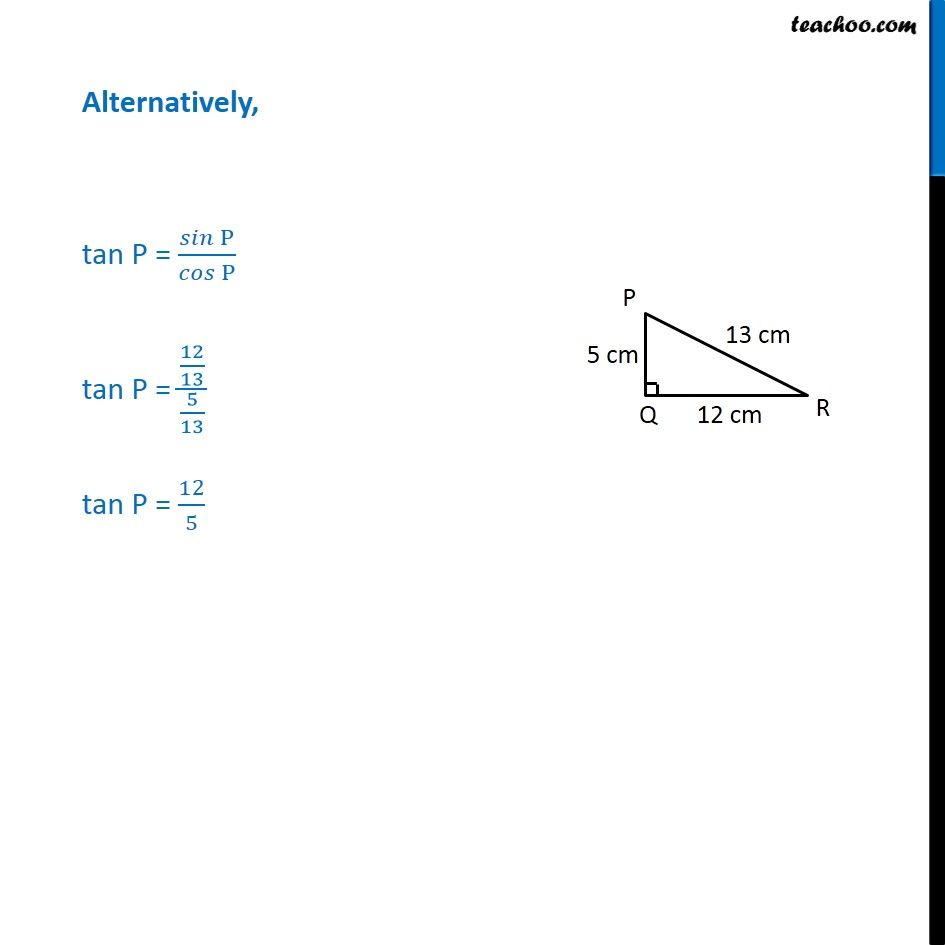 Ex 8.1, 10 - Chapter 8 Class 10 Introduction to Trignometry - Part 4