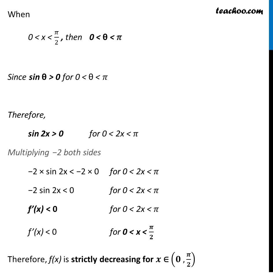 Ex 6.2,12 - Chapter 6 Class 12 Application of Derivatives - Part 3