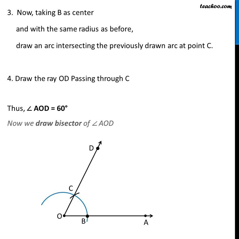Ex 11.1, 3 (iii) - Chapter 11 Class 9 Constructions - Part 2