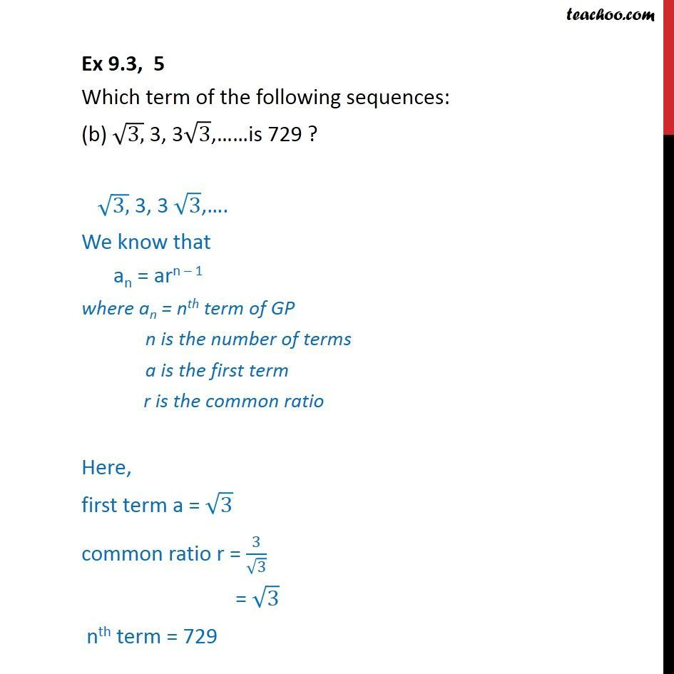 Ex 9.3, 5 - Chapter 9 Class 11 Sequences and Series - Part 4