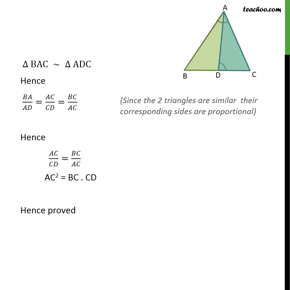 Ex 6.3, 13 - Chapter 6 Class 10 Triangles - Part 2