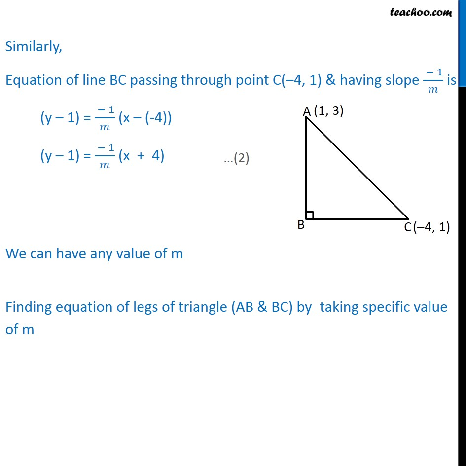 Misc 17 - Chapter 10 Class 11 Straight Lines - Part 3