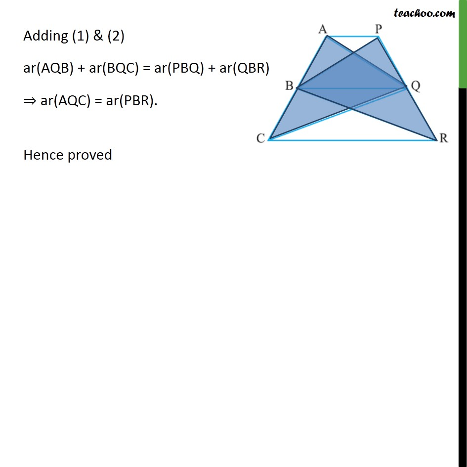 Ex 9.3, 14 - Chapter 9 Class 9 Areas of Parallelograms and Triangles - Part 2