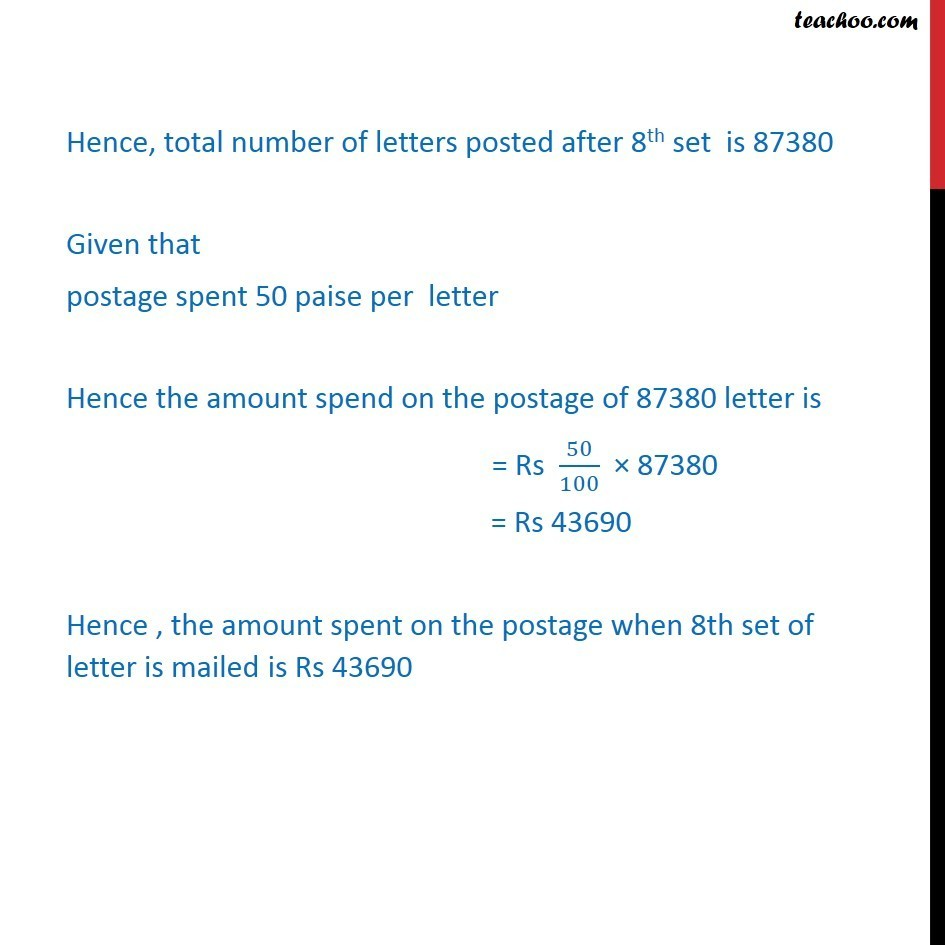 Misc 29 - Chapter 9 Class 11 Sequences and Series - Part 3