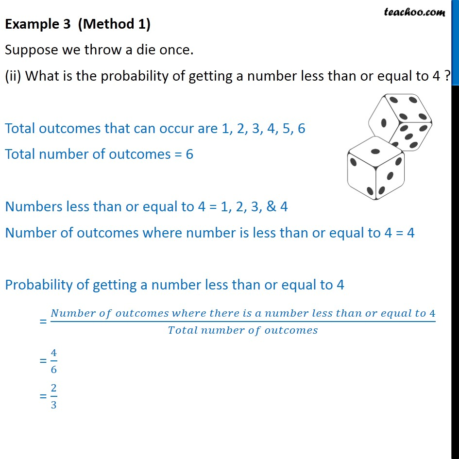 Example 3 - Chapter 15 Class 10 Probability - Part 2
