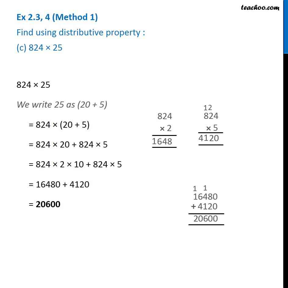 Ex 2.3, 4 - Chapter 2 Class 6 Whole Numbers - Part 3