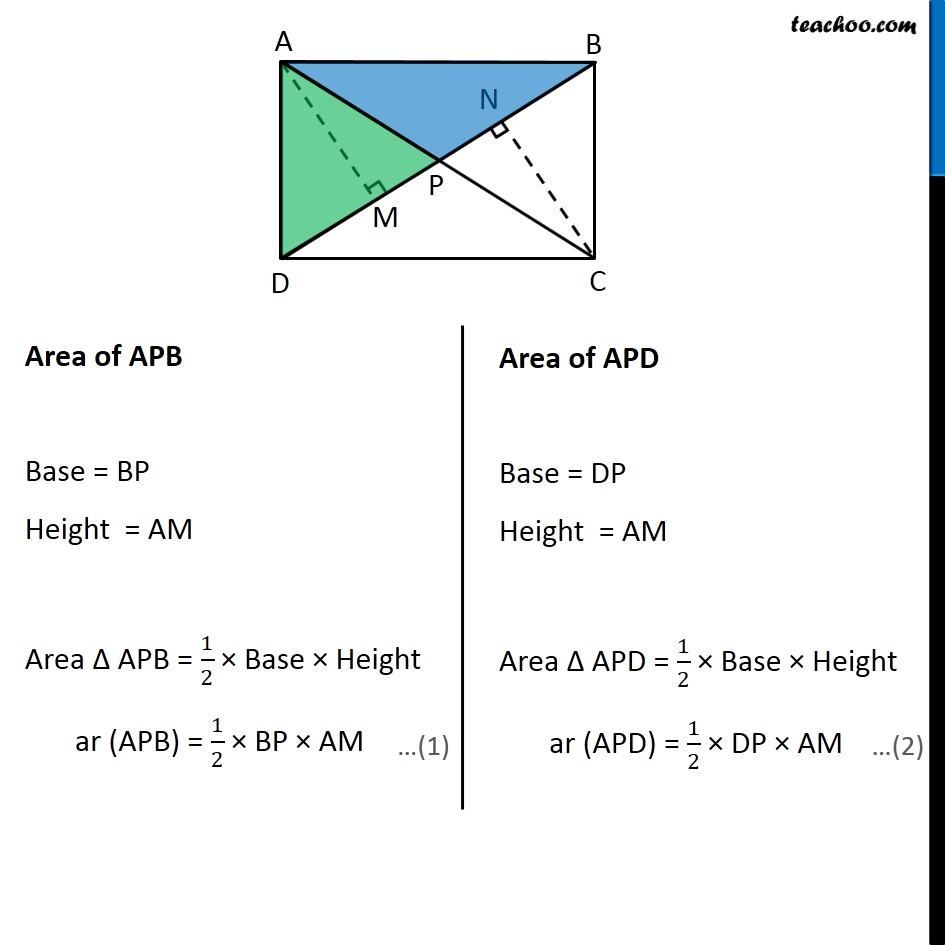 Ex 9.4, 6 (Optional) - Chapter 9 Class 9 Areas of Parallelograms and Triangles - Part 2