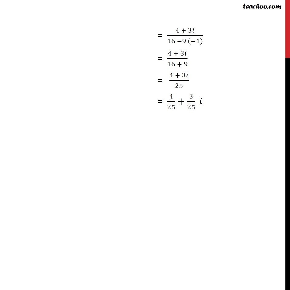Ex 5.1, 11 - Chapter 5 Class 11 Complex Numbers - Part 2