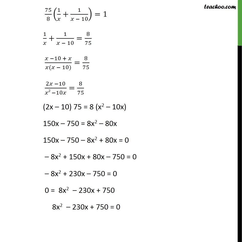 Ex 4.3, 9 - Chapter 4 Class 10 Quadratic Equations - Part 3