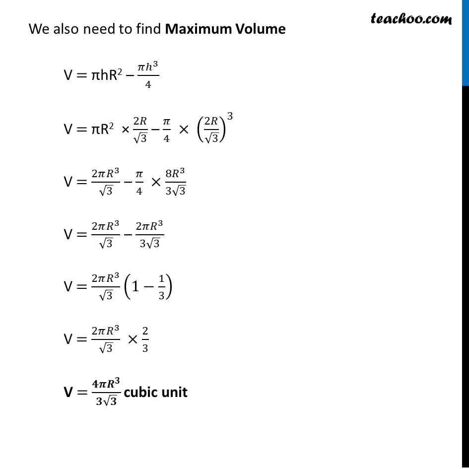 Misc 17 - Chapter 6 Class 12 Application of Derivatives - Part 6