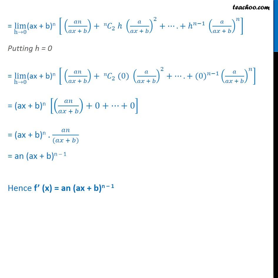 Misc 12  - Chapter 13 Class 11 Limits and Derivatives - Part 4