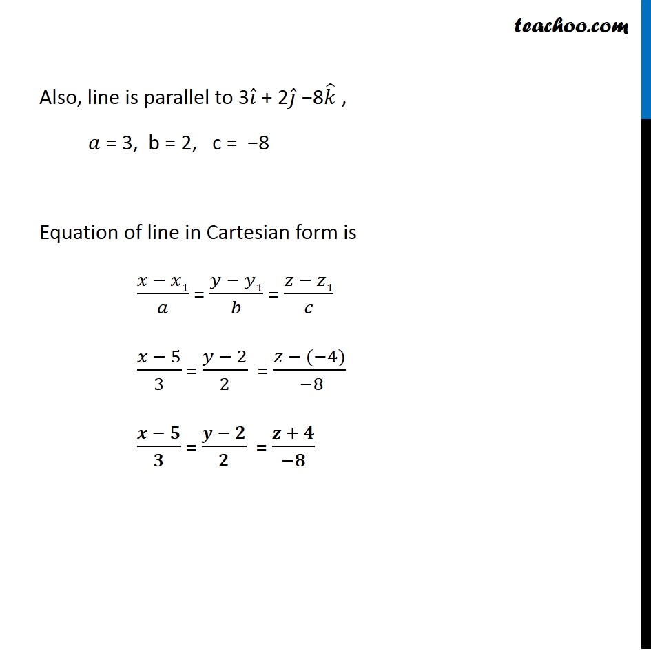 Example, 6 - Chapter 11 Class 12 Three Dimensional Geometry - Part 3