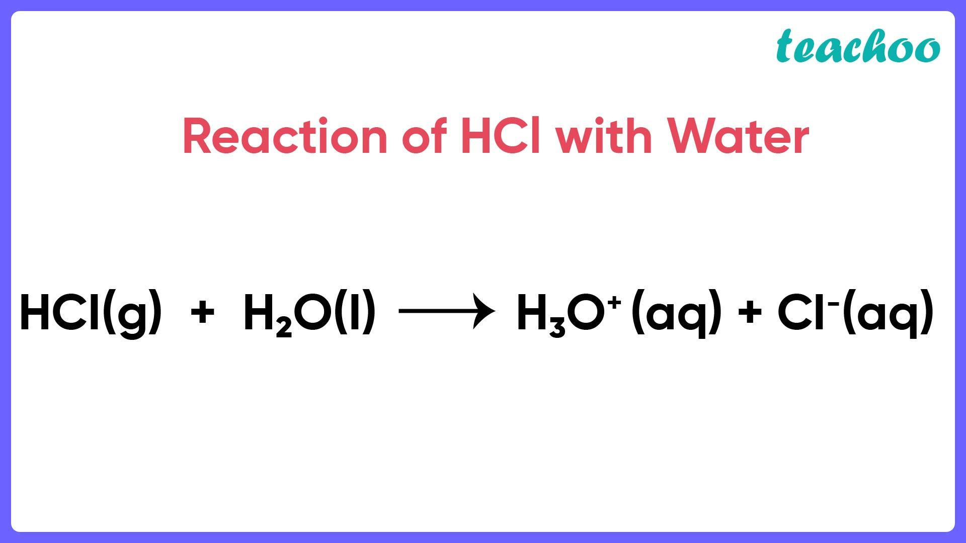 Reaction of HCl with Water - Teachoo.jpg