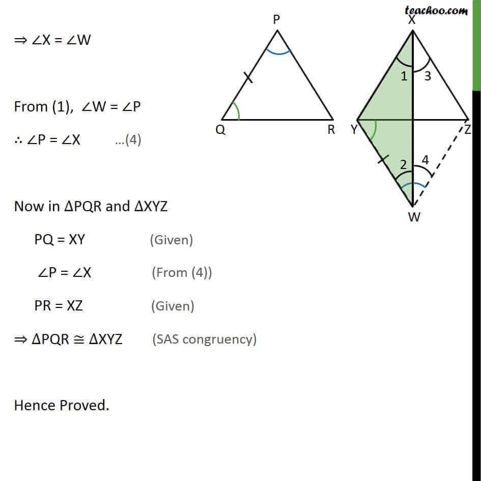 Theorem 7.4 - Chapter 7 Class 9 Triangles - Part 4