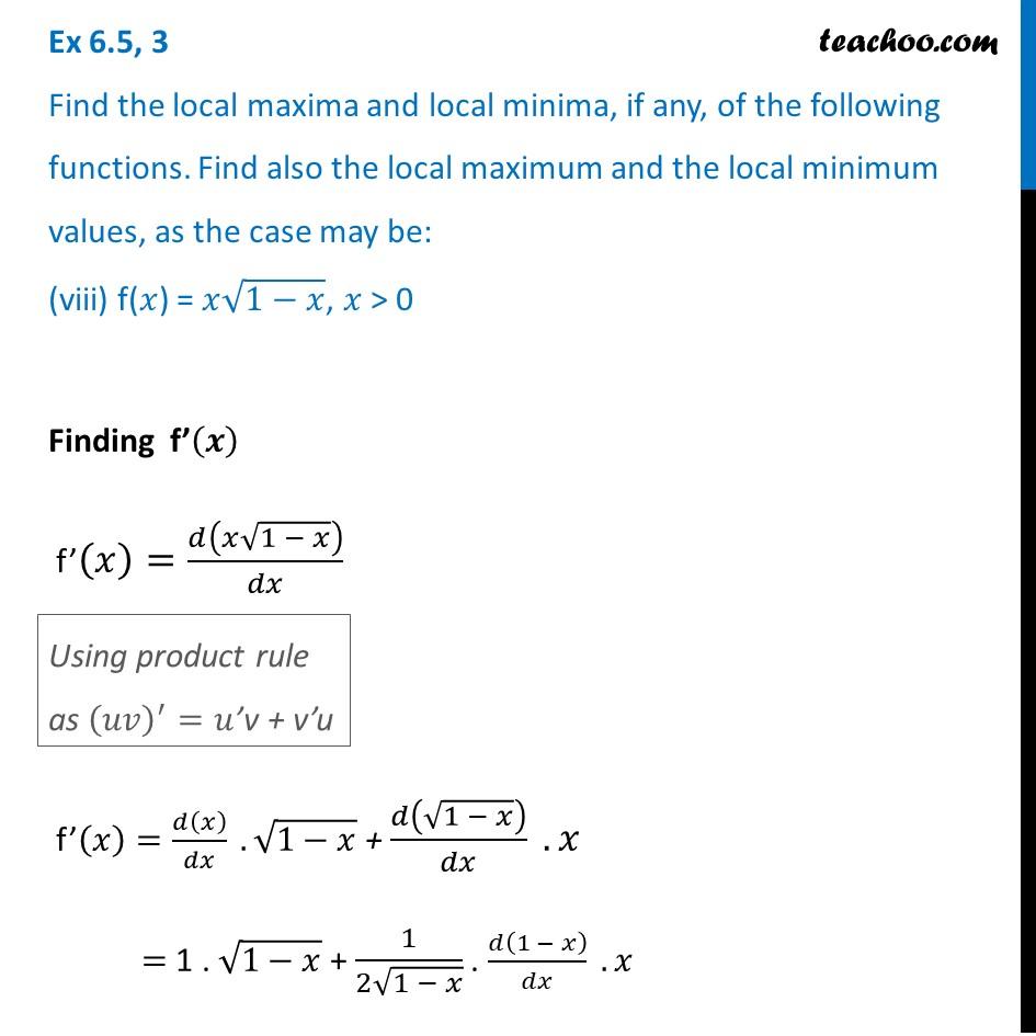 Ex 6.5,3 - Chapter 6 Class 12 Application of Derivatives - Part 28