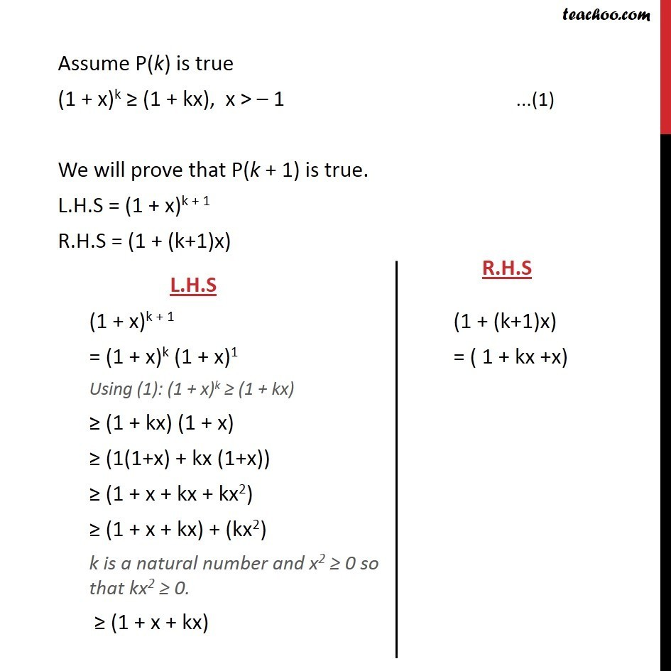 Example 5 - Chapter 4 Class 11 Mathematical Induction - Part 3