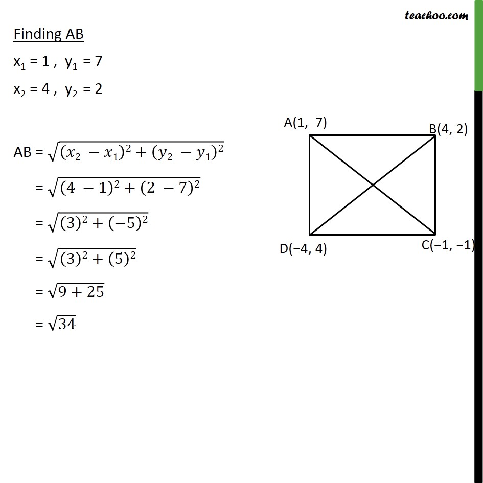 Example 2 - Chapter 7 Class 10 Coordinate Geometry - Part 2