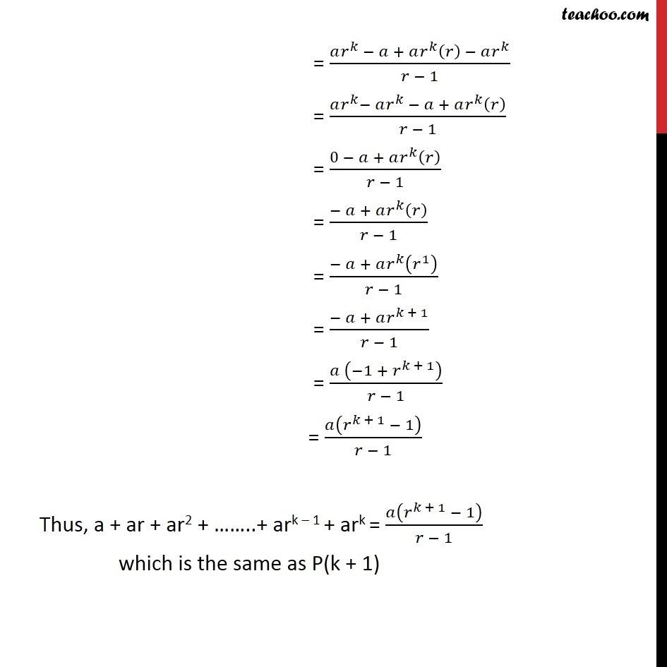 Ex 4.1, 12 - Chapter 4 Class 11 Mathematical Induction - Part 3