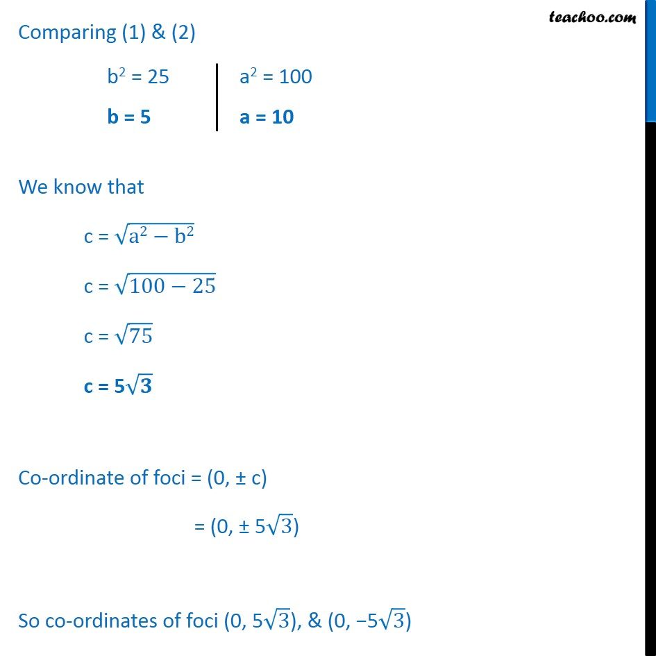 Ex 11.3,  4 - Chapter 11 Class 11 Conic Sections - Part 2