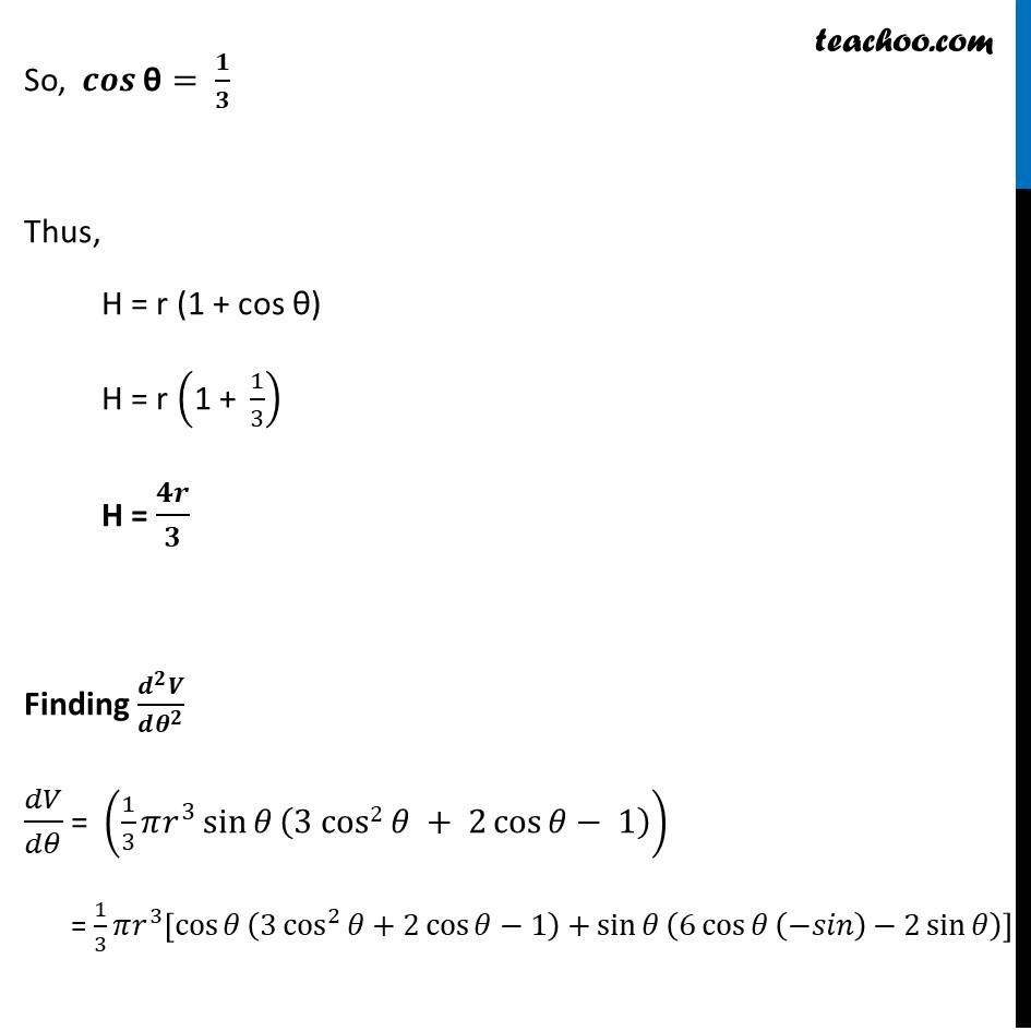 Misc 15 - Chapter 6 Class 12 Application of Derivatives - Part 5