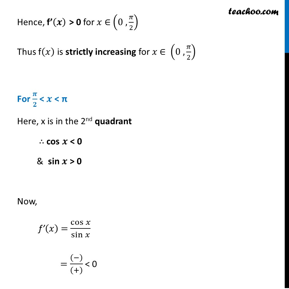 Ex 6.2,16 - Chapter 6 Class 12 Application of Derivatives - Part 3
