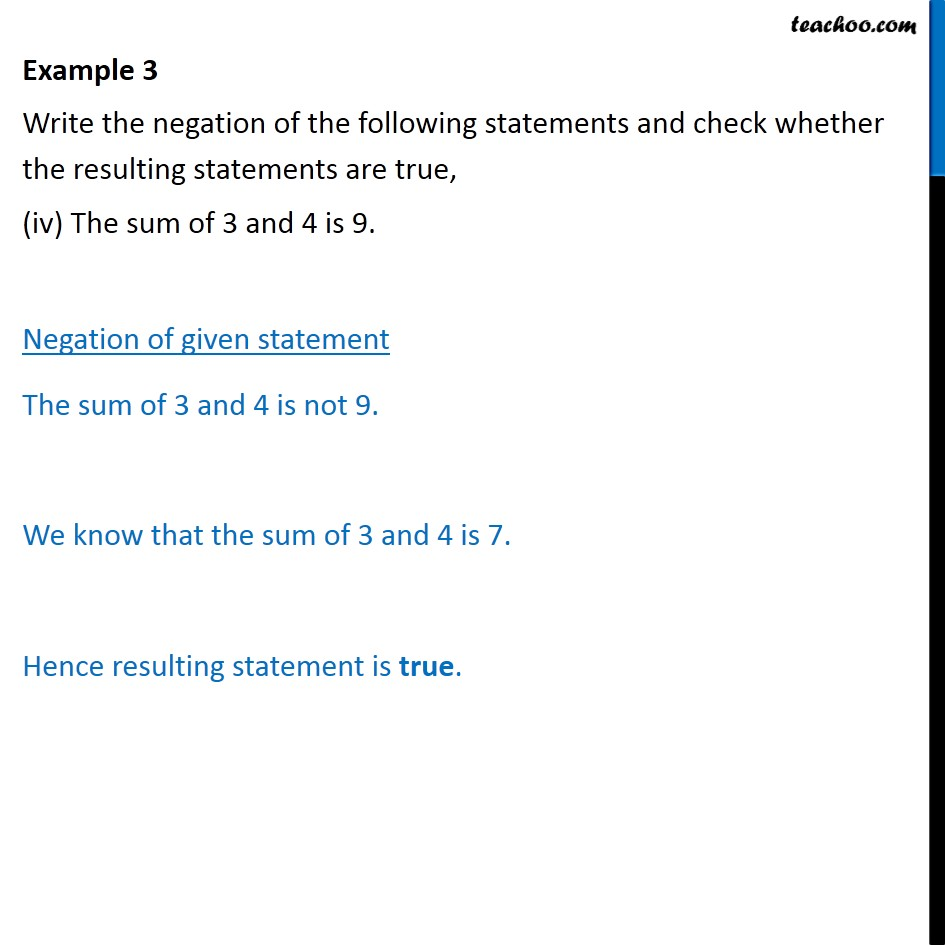 Example  3   - Chapter 14 Class 11 Mathematical Reasoning - Part 4