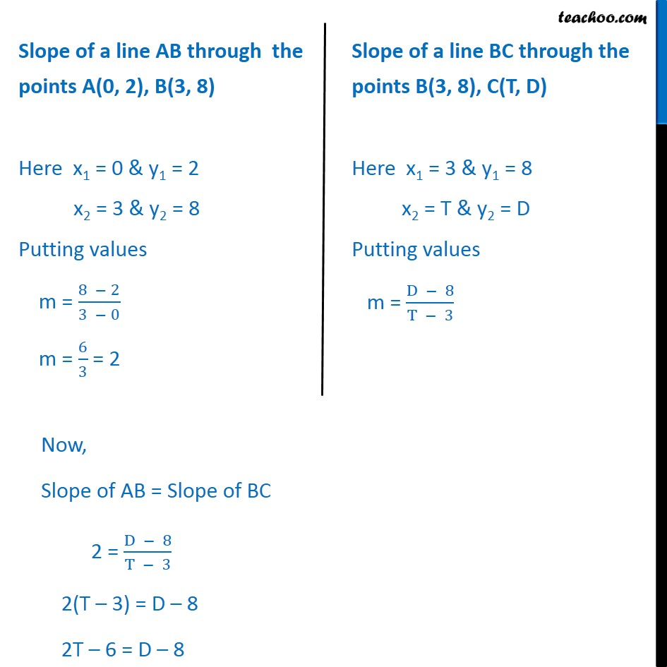 Example 5 - Chapter 10 Class 11 Straight Lines - Part 2
