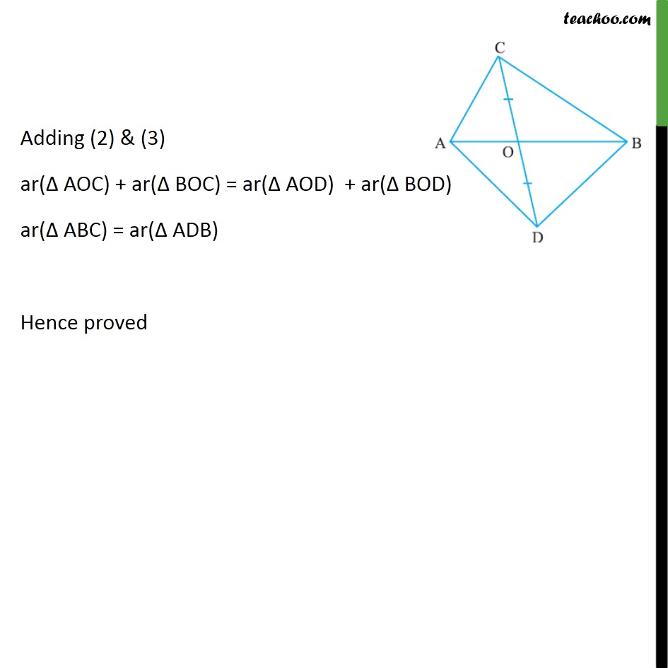 Ex 9.3, 4 - Chapter 9 Class 9 Areas of Parallelograms and Triangles - Part 2
