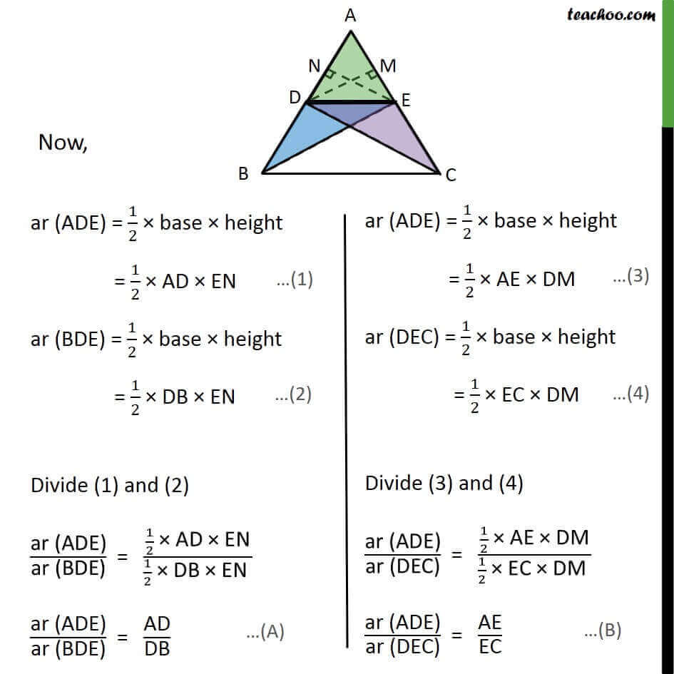 2 Theorem 6.1 - Now ar ADE = 12 base  height = 12 AD EN.jpg