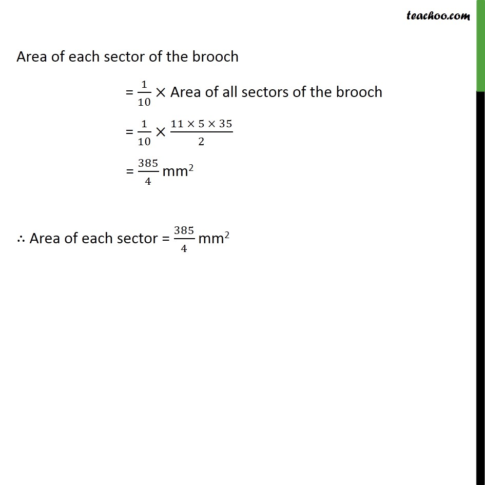 Ex 12.2, 9 - Chapter 12 Class 10 Areas related to Circles - Part 4
