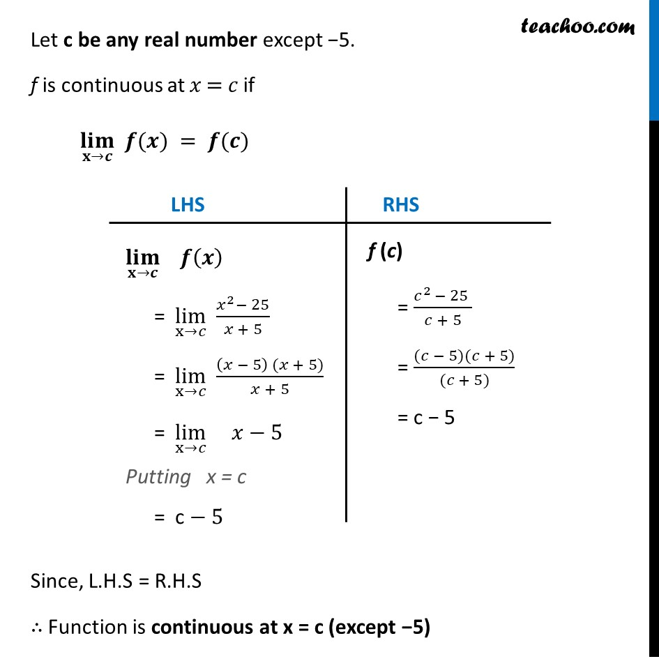 Ex 5.1 ,3 - Chapter 5 Class 12 Continuity and Differentiability - Part 6