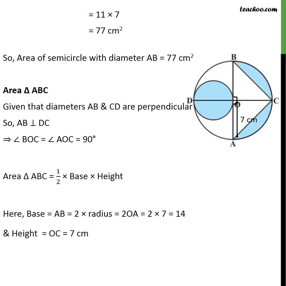 Ex 12.3, 9 - Chapter 12 Class 10 Areas related to Circles - Part 3