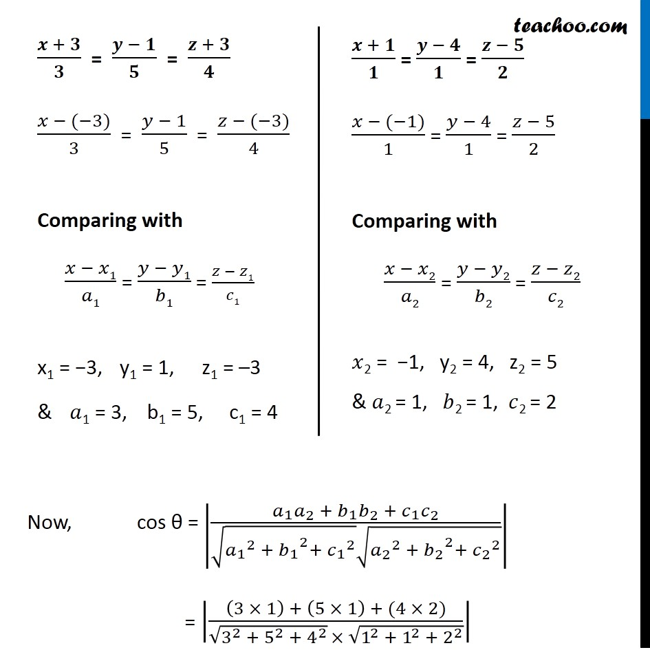 Example 10 - Chapter 11 Class 12 Three Dimensional Geometry - Part 2