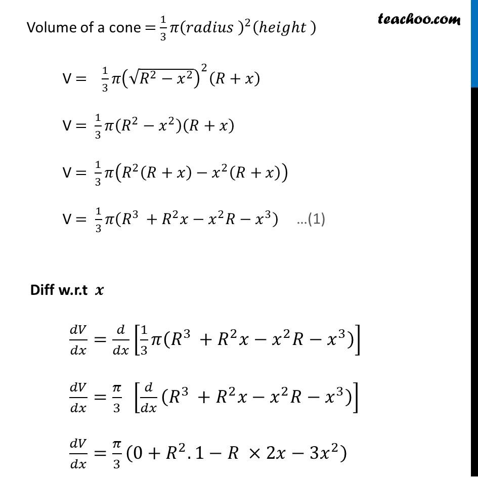 Ex 6.5,23 - Chapter 6 Class 12 Application of Derivatives - Part 3