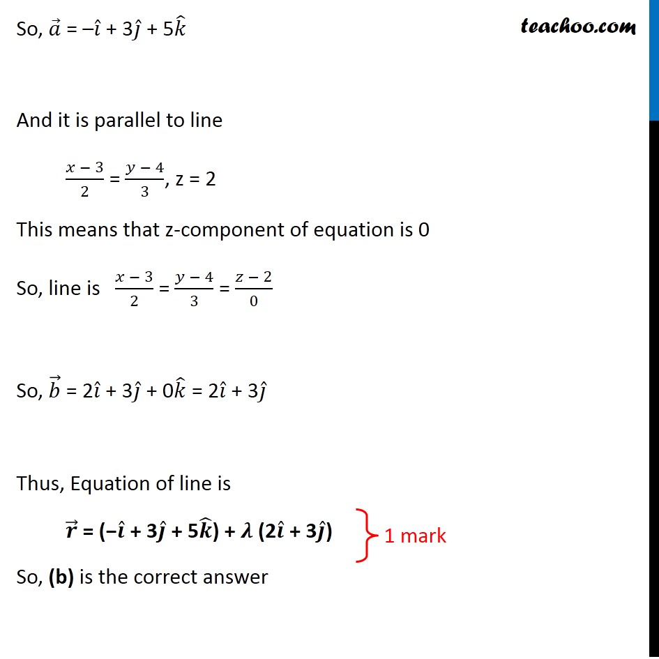 Question 10 - CBSE Class 12 Sample Paper for 2020 Boards - Part 2