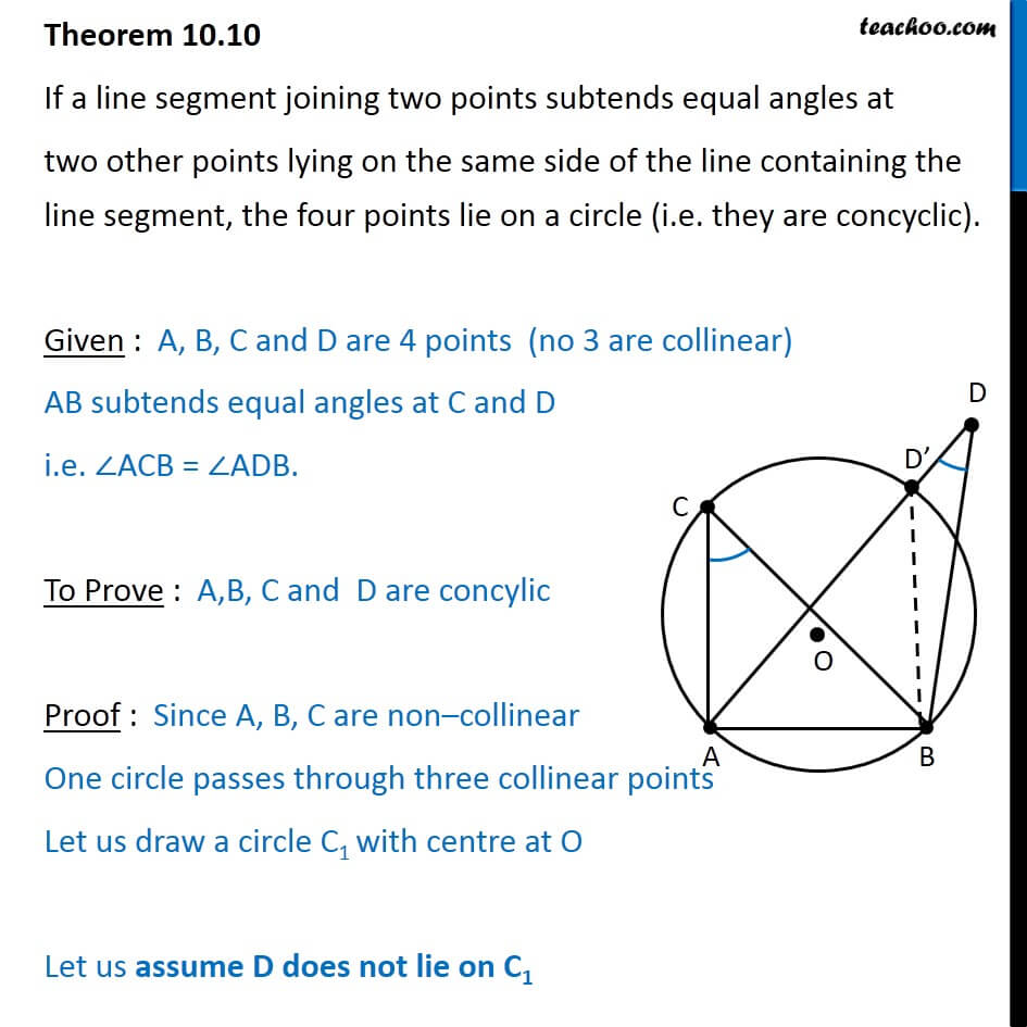 Theorem 10.10 - Class 9 - If line segment joining two points subtends.jpg