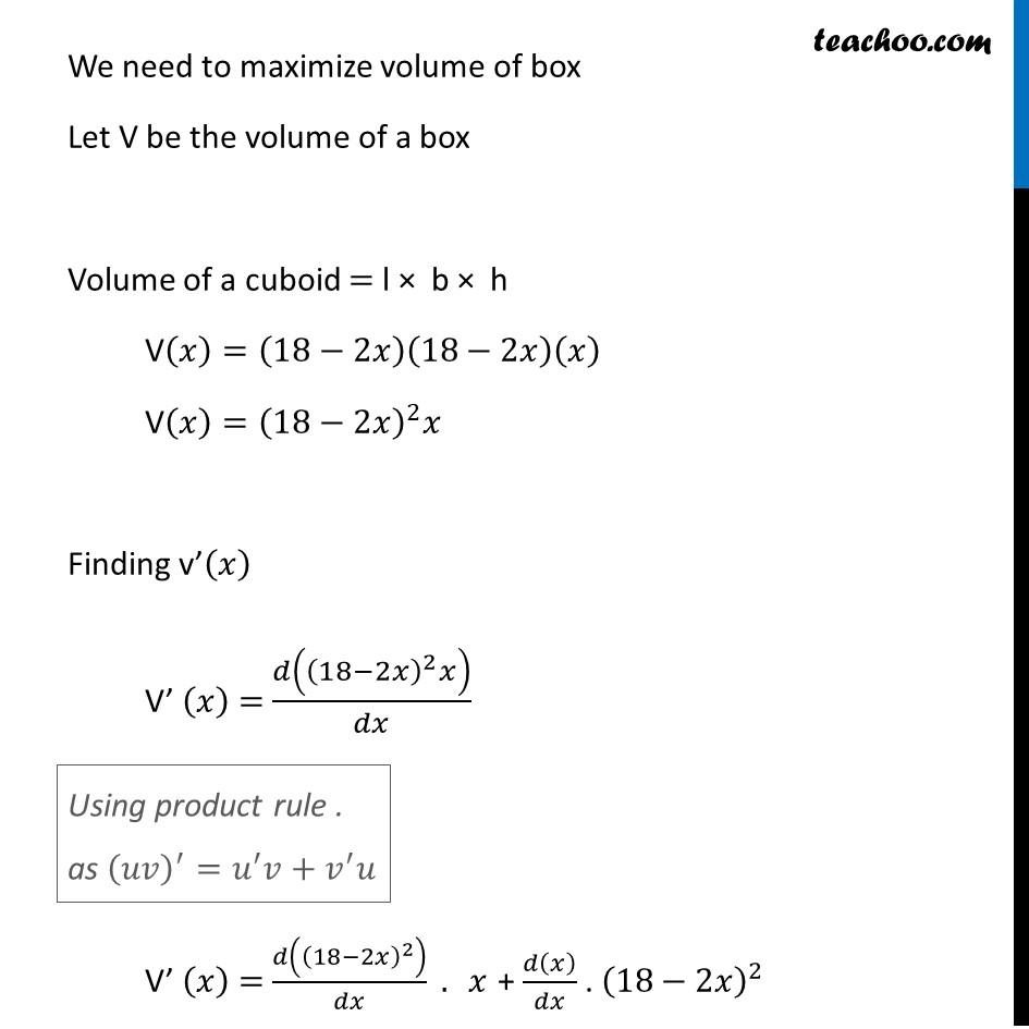 Ex 6.5,17 - Chapter 6 Class 12 Application of Derivatives - Part 2