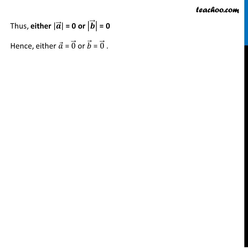 Ex 10.4, 6 - Chapter 10 Class 12 Vector Algebra - Part 2