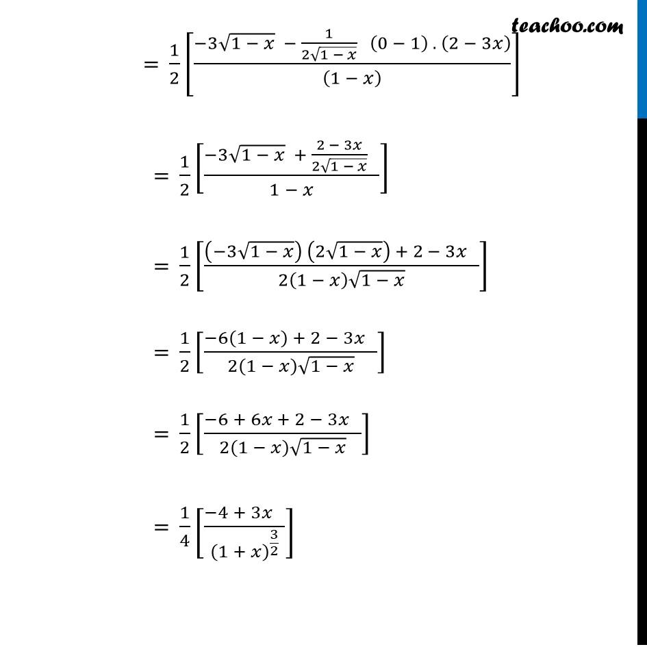 Ex 6.5,3 - Chapter 6 Class 12 Application of Derivatives - Part 31