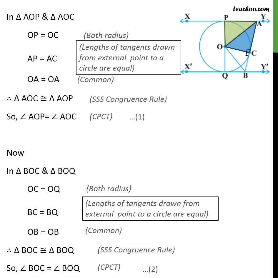 Ex 10.2, 9 - Chapter 10 Class 10 Circles - Part 2