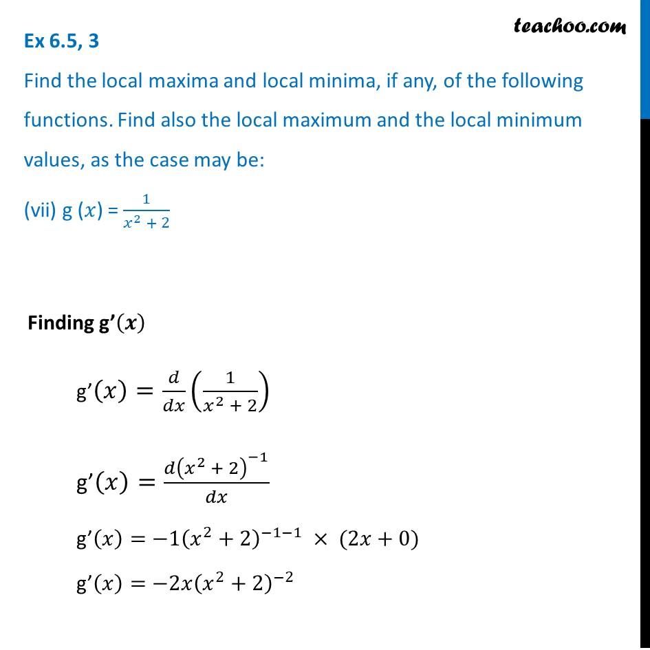 Ex 6.5,3 - Chapter 6 Class 12 Application of Derivatives - Part 24