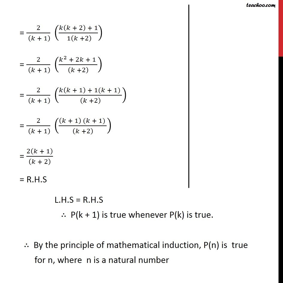 Ex 4.1, 3 - Chapter 4 Class 11 Mathematical Induction - Part 4
