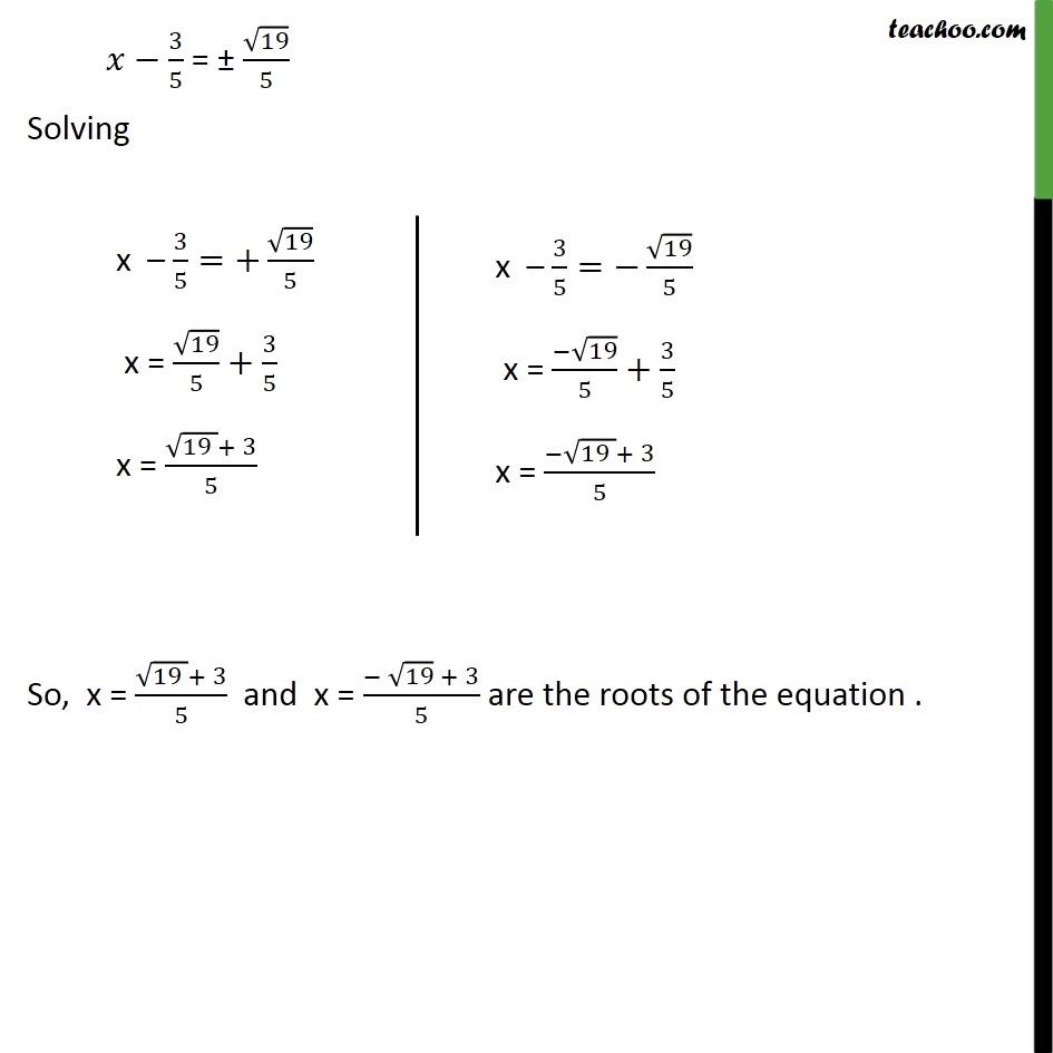 Example 8 - Chapter 4 Class 10 Quadratic Equations - Part 4
