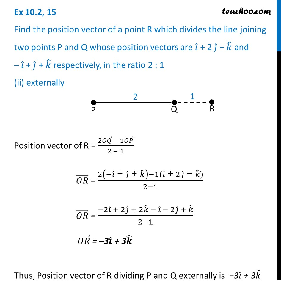 Ex 10.2, 15 - Chapter 10 Class 12 Vector Algebra - Part 3