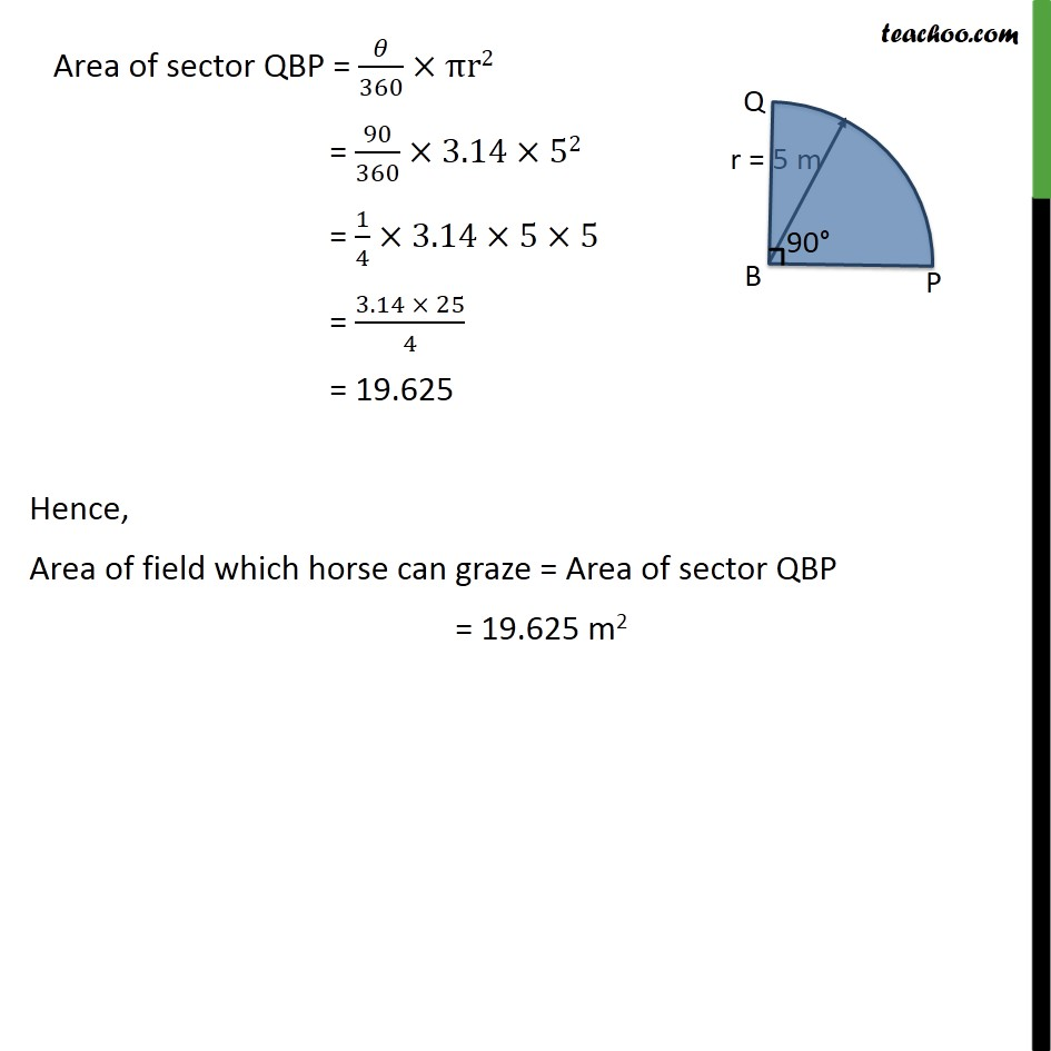 Ex 12.2, 8 - Chapter 12 Class 10 Areas related to Circles - Part 2